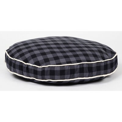 Dog Pillow Size: Large, Color: Charcoal