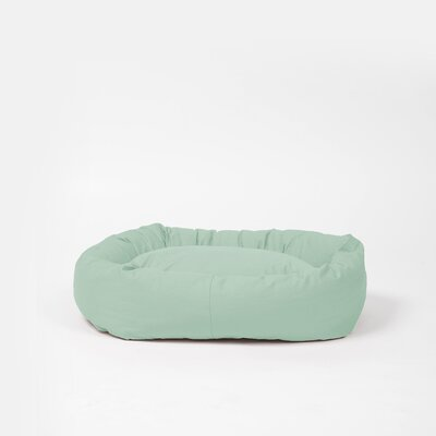 Benny Basic Snuggle Dog Bed Size: Medium, Color: Mint