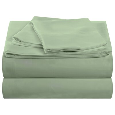 Cocona 400 Thread Count Sheet Set Size: Queen, Color: Sage