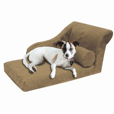 Pet Furniture Dog Chaise Lounge Color: Buckskin