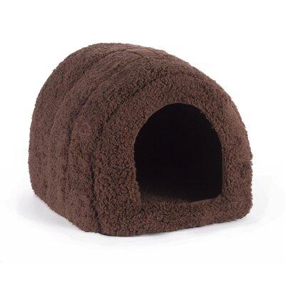 Pet Furniture Igloo Dog Dome Color: Brown