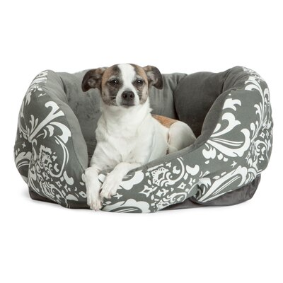 Duchess Cuddler Amsterdam Graphite Dog Bed Size: Medium (23 L x 23 W)