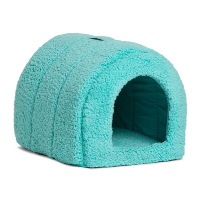 Pet Furniture Igloo Dome Color: Teal