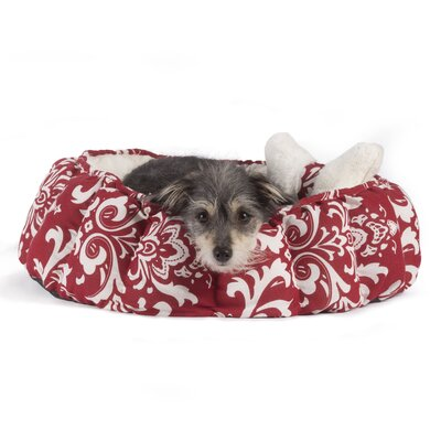 Cuddler Royal Amsterdam Bolster Color: Red