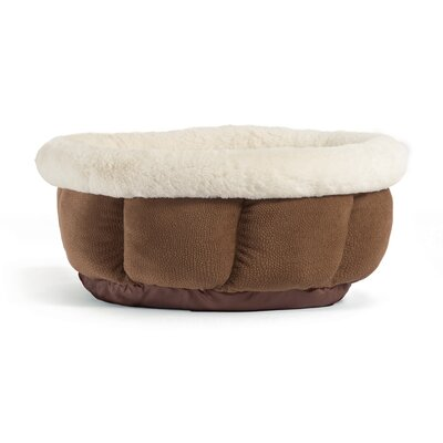 Cuddle Cup Ilan Bolster Color: Tobacco