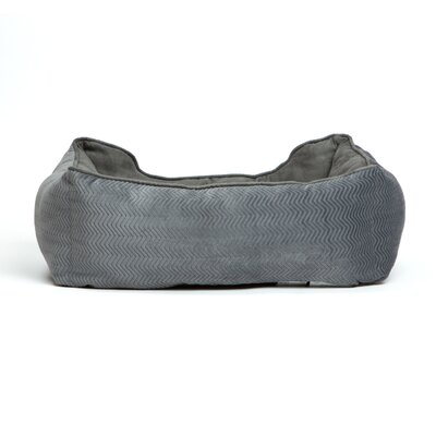 Corded Bumper Flair Bolster Color: Graphite