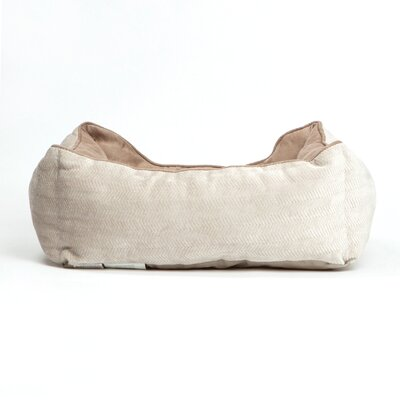 Corded Bumper Flair Bolster Color: Wheat/Buckskin
