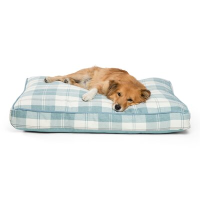 Standard Corded Dog Pillowa Color: Light Blue