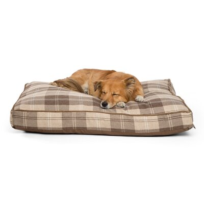 Standard Corded Dog Pillowa Color: Mocha