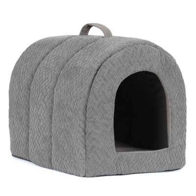 Igloo in Flex Cat Bed Color: Gray