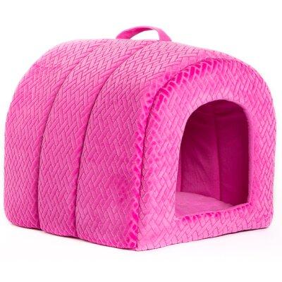 Pet Igloo Flex Cat Bed Dome Color: Fuchsia