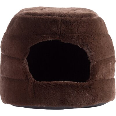 2-in-1 Honeycomb Hut-Cuddler Color: Dark Chocolate