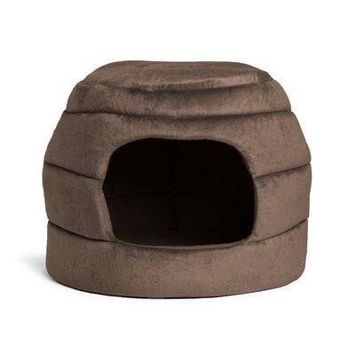 2-in-1 Honeycomb Hut-Cuddler Color: Dark Brown