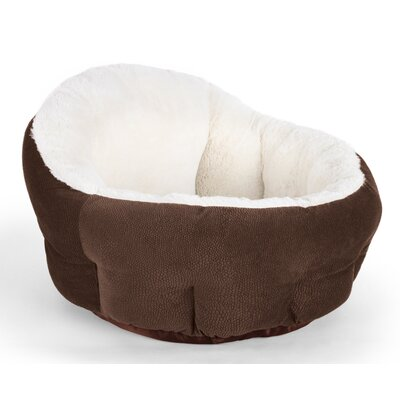 OrthoComfort Deep Dish Cuddler Bolster Color: Dark Chocolate