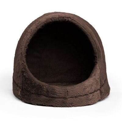 Pet Hut Dome Color: Dark Chocolate
