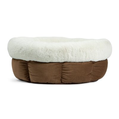 Jumbo Cuddle Cup Ilan Bolster Color: Tobacco