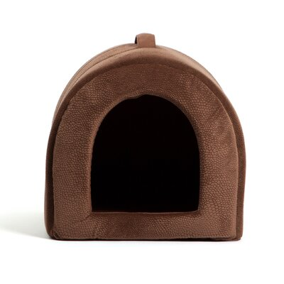 Pet Igloo Dome Color: Dark Brown