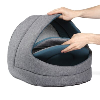 Pet Cave Tweed Cat Bed / Dog Bed