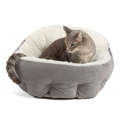 OrthoComfort Deep Dish Cuddler Bolster Color: Gray