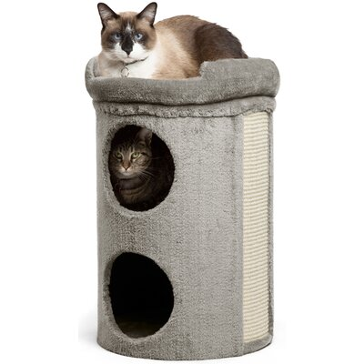 23 Winston Cat Condo Color: Gray
