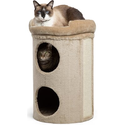 23 Winston Cat Condo Color: Taupe