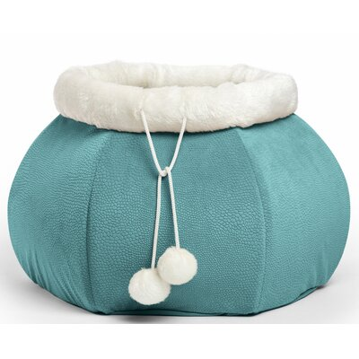 4-in-1 Kitty Pouch-Cuddler Ilan Cat Bed Color: Ilan Tide Pool