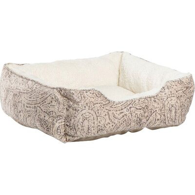 Corded Rectangular Bumper Bolster in Ayla, Stone