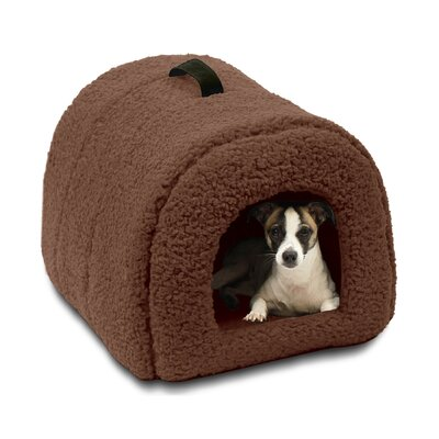Pet Furniture Igloo Dog Dome Color: Brown