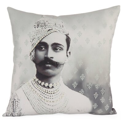 Royal Photographic Embroidered Throw Pillow