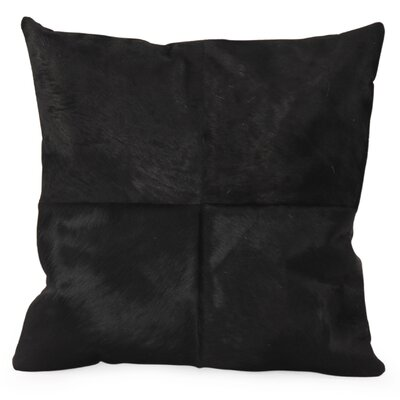 Ox Cow Hide Throw Pillow