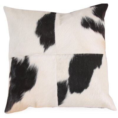 Kuh Cow Hide Throw Pillow