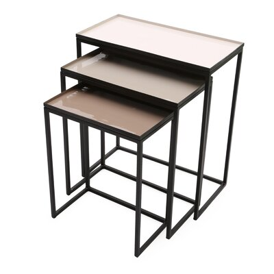 Graywolf 3 Piece Nesting Tables