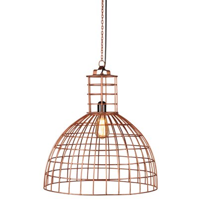 Llum 1-Light Bowl Pendant