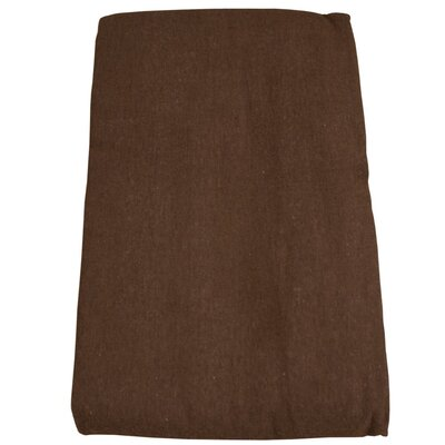 Massage Table Flannel Cover Color: Chocolate