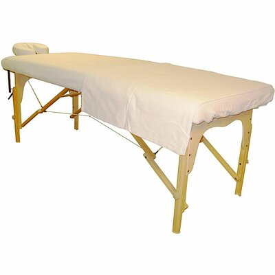 Flannel Massage Table Cover and Face Cover Set FLNSHS