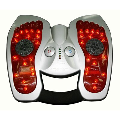 Multi Mode Warming Tapping Foot Massager