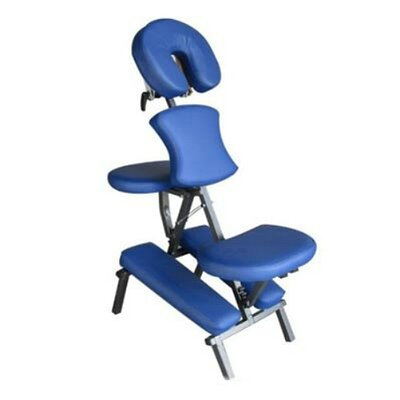 Folding and Portable Massage Chair Color: Blue