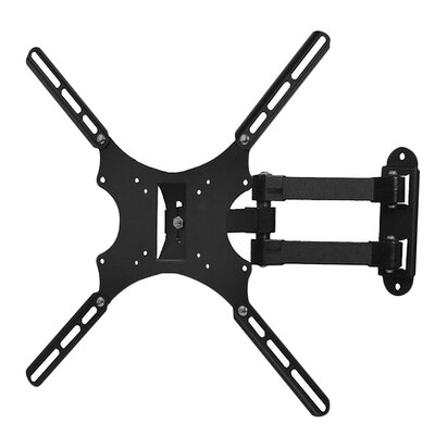 Tilt and Swivel Articulating TV Wall Mount Bracket for 19-46 Flat Panel Screens