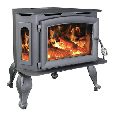 Bay Front 1800 sq. ft. Direct Vent Wood Stove VG180L