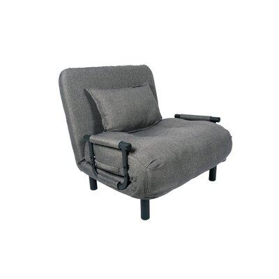 Jesse Single Sleeper Convertible Sofa Upholstery: Gray
