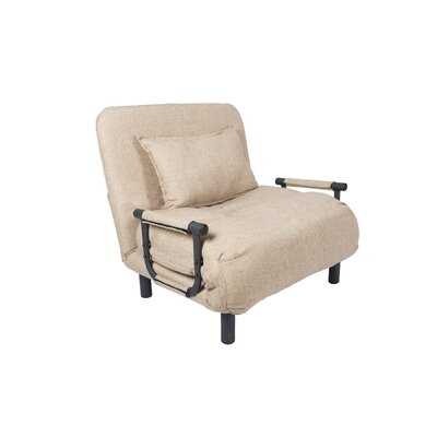 Jesse Single Sleeper Convertible Sofa Upholstery: Beige
