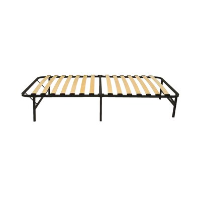 Wooden Slat Simple Base Bed Frame Size: Twin Extra Long