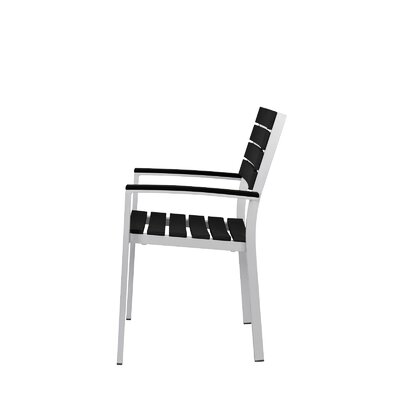Source Contract Vienna Stacking Dining Arm Chair - Finish: Black at Sears.com