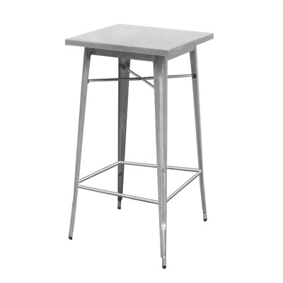 Fremont Bar Dining Table Table Size: 24 L x 24 W