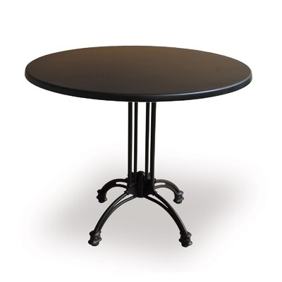 """Source Contract Rose Round Table (12 Pieces) - Finish: Black, Diameter: 28"""" at Sears.com"""