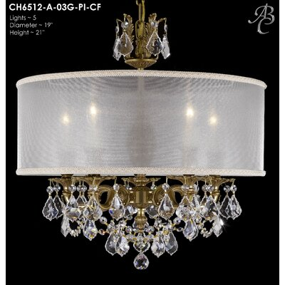 Llydia 5-Light Drum Chandelier