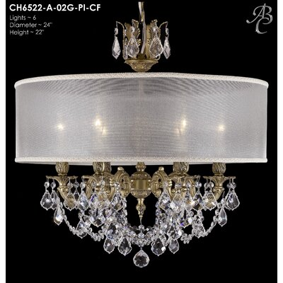 Llydia 6-Light Drum Chandelier