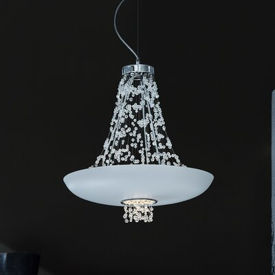 Empire 9-Light Bowl Pendant Shade Color: Matte White
