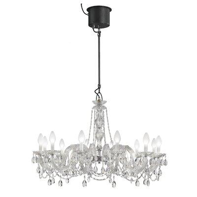 Drylight LED 12 Light Crystal Chandelier