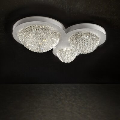 Bool 3-Light Flush Mount